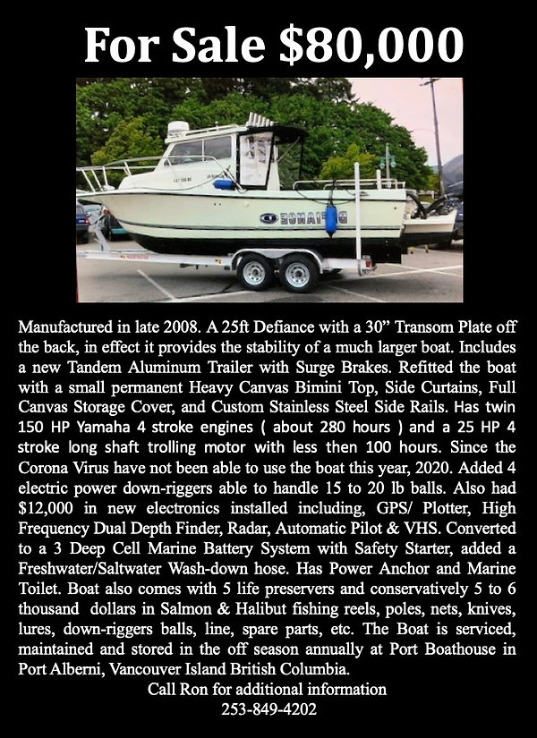25 foot Defiance Boat for sell.jpg
