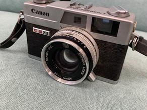 キャノン G-Ⅲ QL フィルムカメラ熊本市北区のお客様からお売り頂きました^ - ^