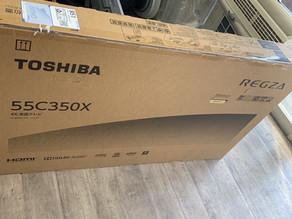 東芝 レグザ 液晶テレビ 55C350X熊本市東区のお客様よりお売り頂きました^ - ^