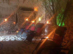 Salt cave therapy
