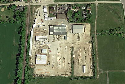 Birds eye view of Richco Structures