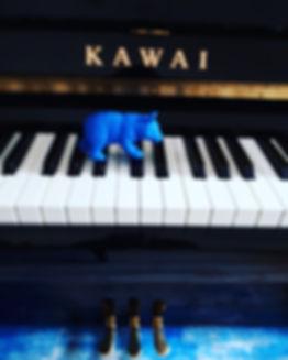 Genene Edwards teaching piano in Islington, London