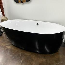 Modern Black Tub