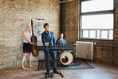 Brent Miller LIVE Trio Band perform at Jam Factory