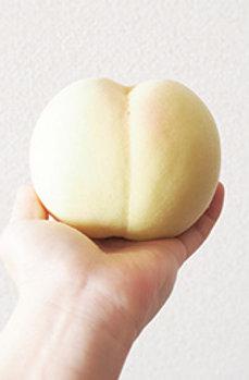 【極上特選/4kg】岡山白桃 清水白桃 贈答用(約10~12個)