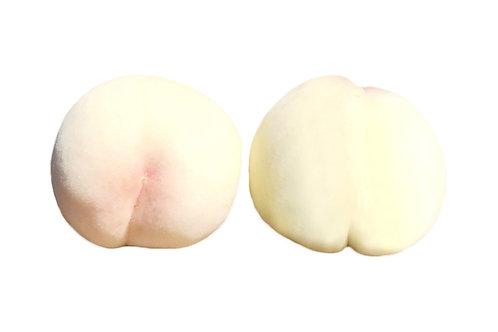 【ご家庭用】岡山白桃 清水白桃 手提げバッグ入り(約5~6個)