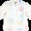 Thumbnail: レンタルかりゆしウェア Ladies' バケーションリーフ(七分袖)レインボー