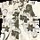 Thumbnail: レンタルかりゆしウェア kid's シルエットフラワー アイボリー 100cm