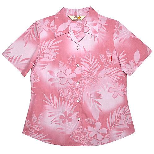 レンタルかりゆしウェア Ladies' シダプルメリア ピンク