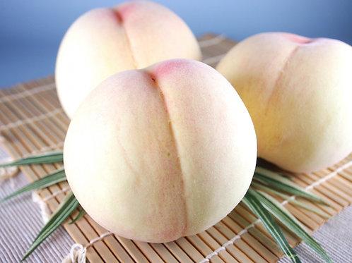【最高級/2kg】岡山白桃 清水白桃 贈答用(約5~7個入り)