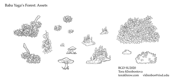 Baba Yaga's Forest Assets