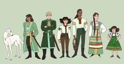 Character Lineup: Zemlansk