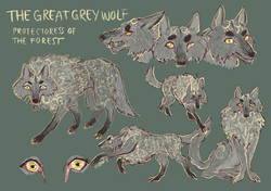 The Great Grey Wolf Sheet