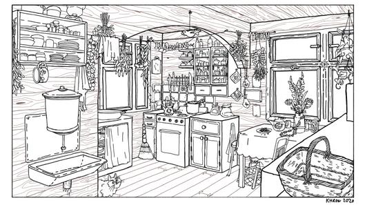 Babushka's Kitchen 1