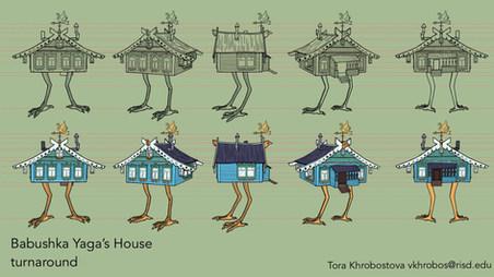Babushka Yaga's House Turnaround