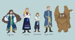 Character Lineup: Vodnagrad