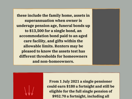 How changes from 1 July may mean age pension increase.