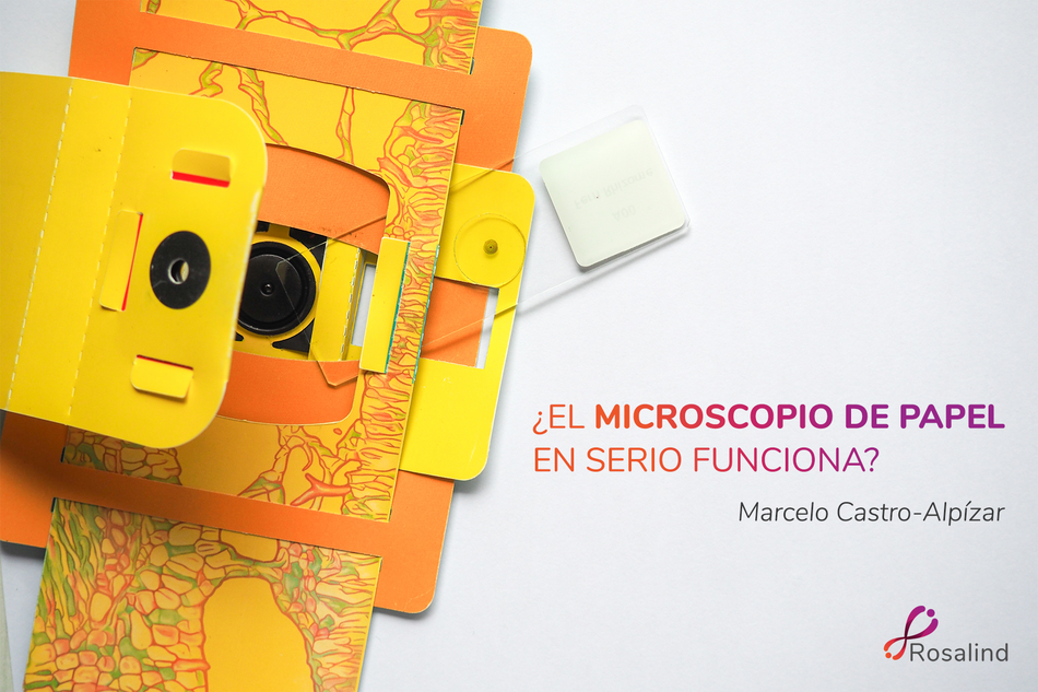 ¿El microscopio de papel en serio funciona?