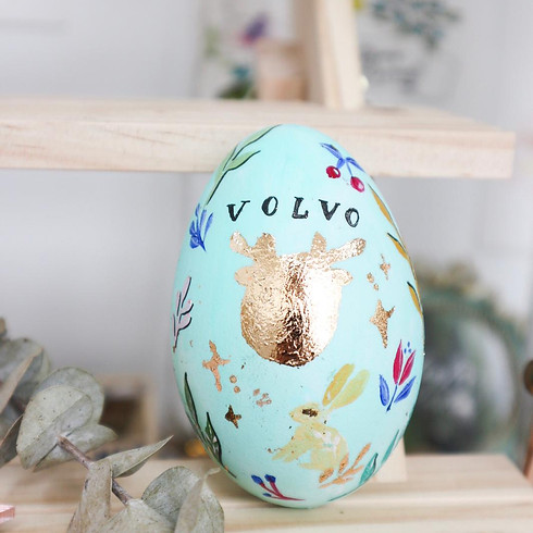 Volvo麋鹿印印復活蛋工作坊 - Section 2