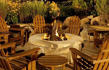 Metal Outdoor Fire Logs