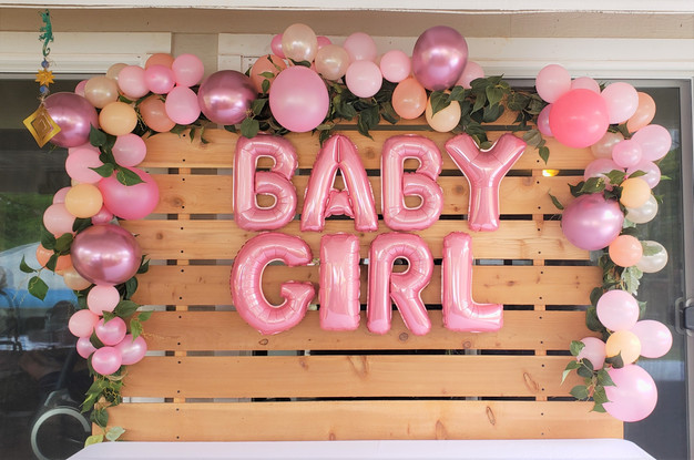 It's A Surprise Pink Rustic Themed Baby Shower