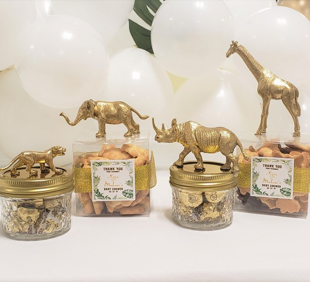 Safari Themed Baby Shower Honoring Mommy Kyra and Daddy Mahiai