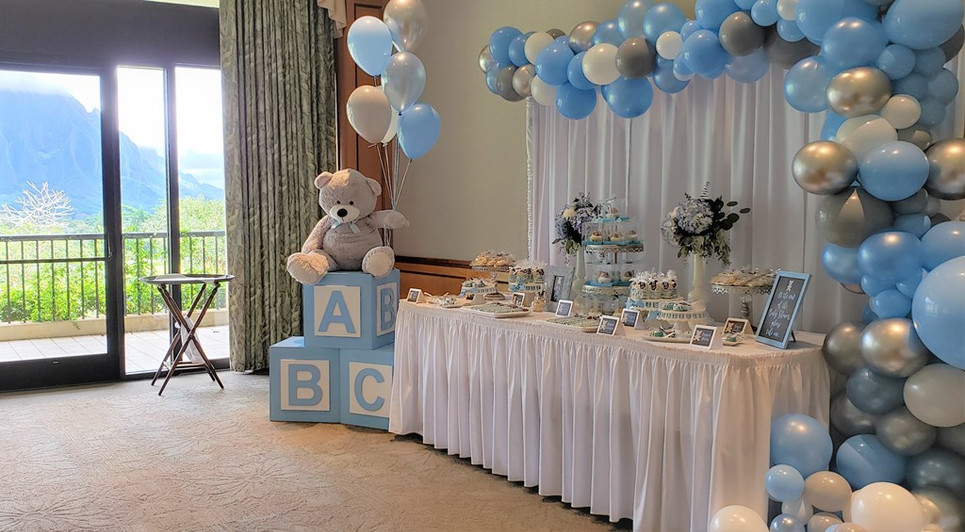 Baby Elephant Themed Baby Shower Honoring Nicole & John
