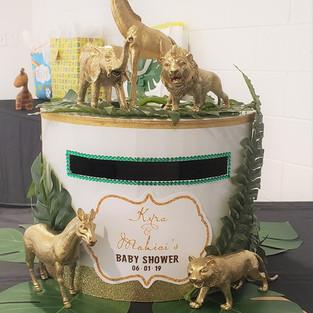 Safari Themed Baby Shower Honoring Mommy Kyra and Daddy Mahiai