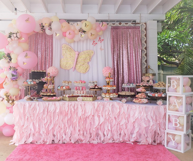 Butterfly Themed Baby Shower for Baby Girl Avayah Leilani