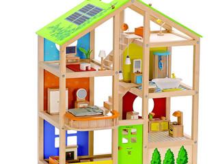 Awards Winning Solar Panel Fully Furnished Doll House