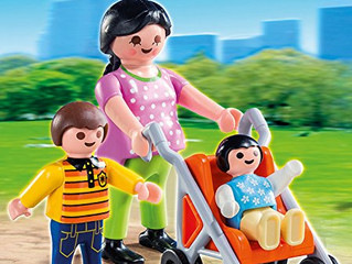 PLAYMOBIL Mother and Child