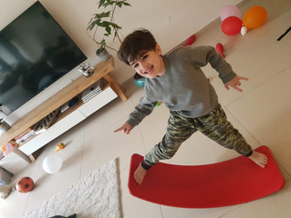 Get Creative and Active with the Wobbel Board