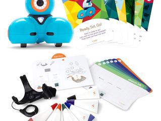Wonder Workshop – Dash Robot Coding for Kids 6+ – Dash Challenge Cards and Sketch Kit Bundle – (Amaz