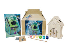 Dreamland Fairy House Craft Kit with book, fairy dust and paint