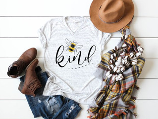 Bee Kind Adult Shirts