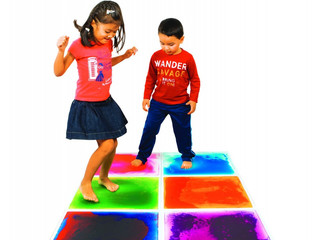 Sensory Liquid Floor Tile for Playroom