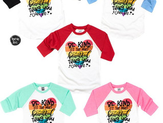 Be kind Shirt for Kids