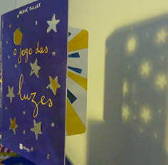 Cutouts book to use with flashlight at bed time story