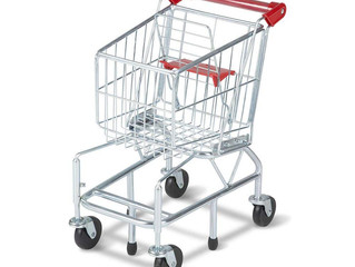 Let's go Shopping:  Shopping Cart and Pretend Food