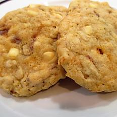 White Chocolate Buttercrisp Cookies