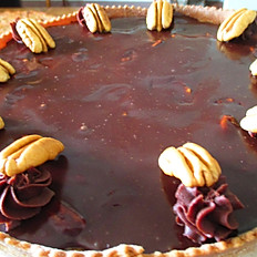 Wild Chocolate Pecan Pie