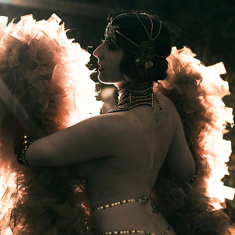 Burlesquetänzerin Pepper Sparkles