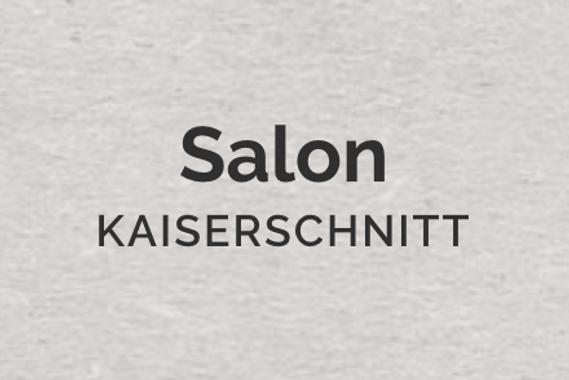 Salon Kaiserschnitt