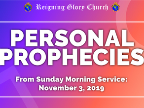 Video: Personal Prophecies Given During Sunday Service