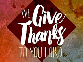 2018 Give Thanks Conference