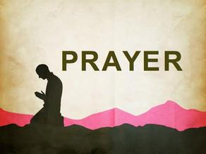 Intercessory Prayer This Week