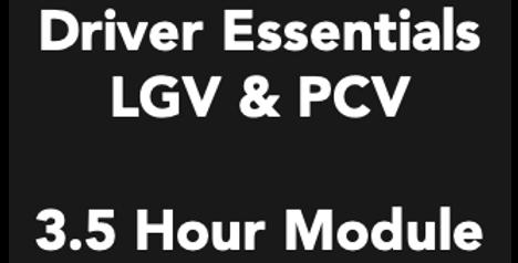 Driver Essentials - 3.5 Hour Module