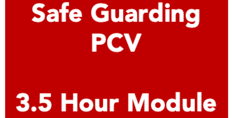 Safe Guarding - 3.5 Hour Module