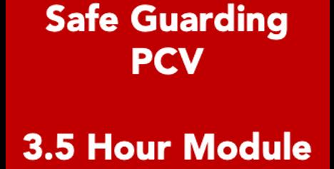 Safe Guarding - 3.5 Hour Module
