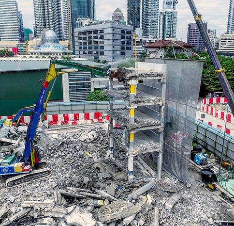 High Rech Demolition KLCC